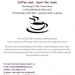 Coffee morning 18 May  Andover